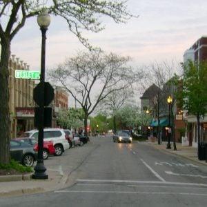 Downtown Wheaton, IL