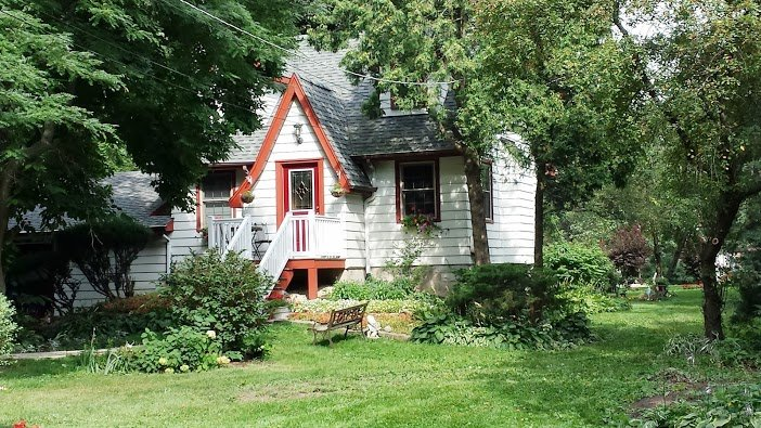 Fairy tale type cottage house style home tour