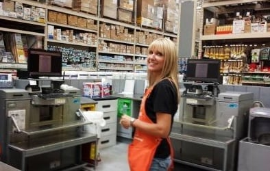 Home Depot Behr Paint Girl