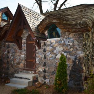 Houzz Armynster storybook lake house