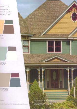 Beautiful examples of the popular warm midtone exterior house color ideas  Your style such as craftsman or classic traditional often dictates paint Exterior House Color Ideas Behr Paint