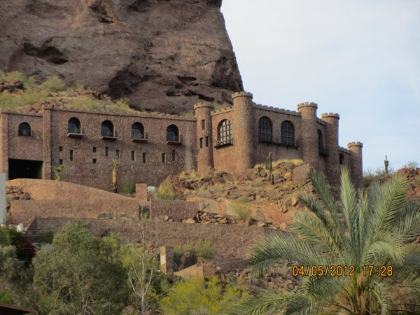 Camelback Mountain Castle exterior