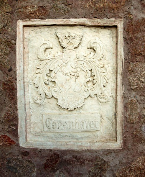 Copenhaver inscription wall