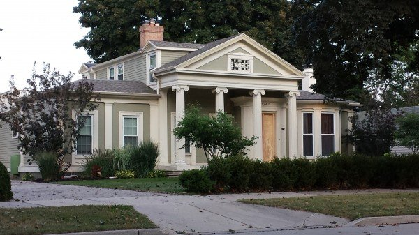 historic greek revival house - Greek Revival Cottage