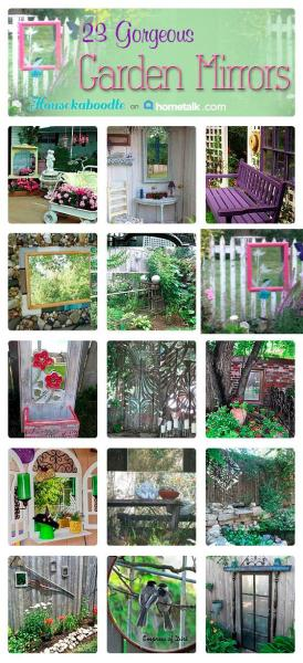 23 Gorgeous Garden Mirrors - Hometalk