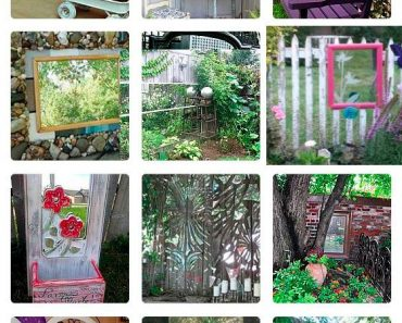 23 Gorgeous Garden Mirrors