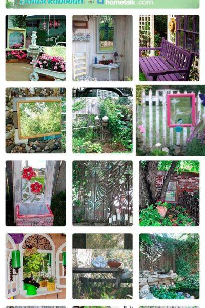 23 Gorgeous Garden Mirrors