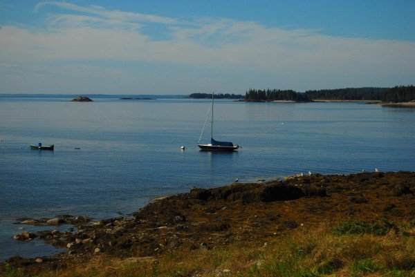 Little Deer Isle, Maine view of water