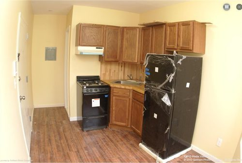 Smallest studio apartment in new york is 1 275 a month Studio apartment kitchen