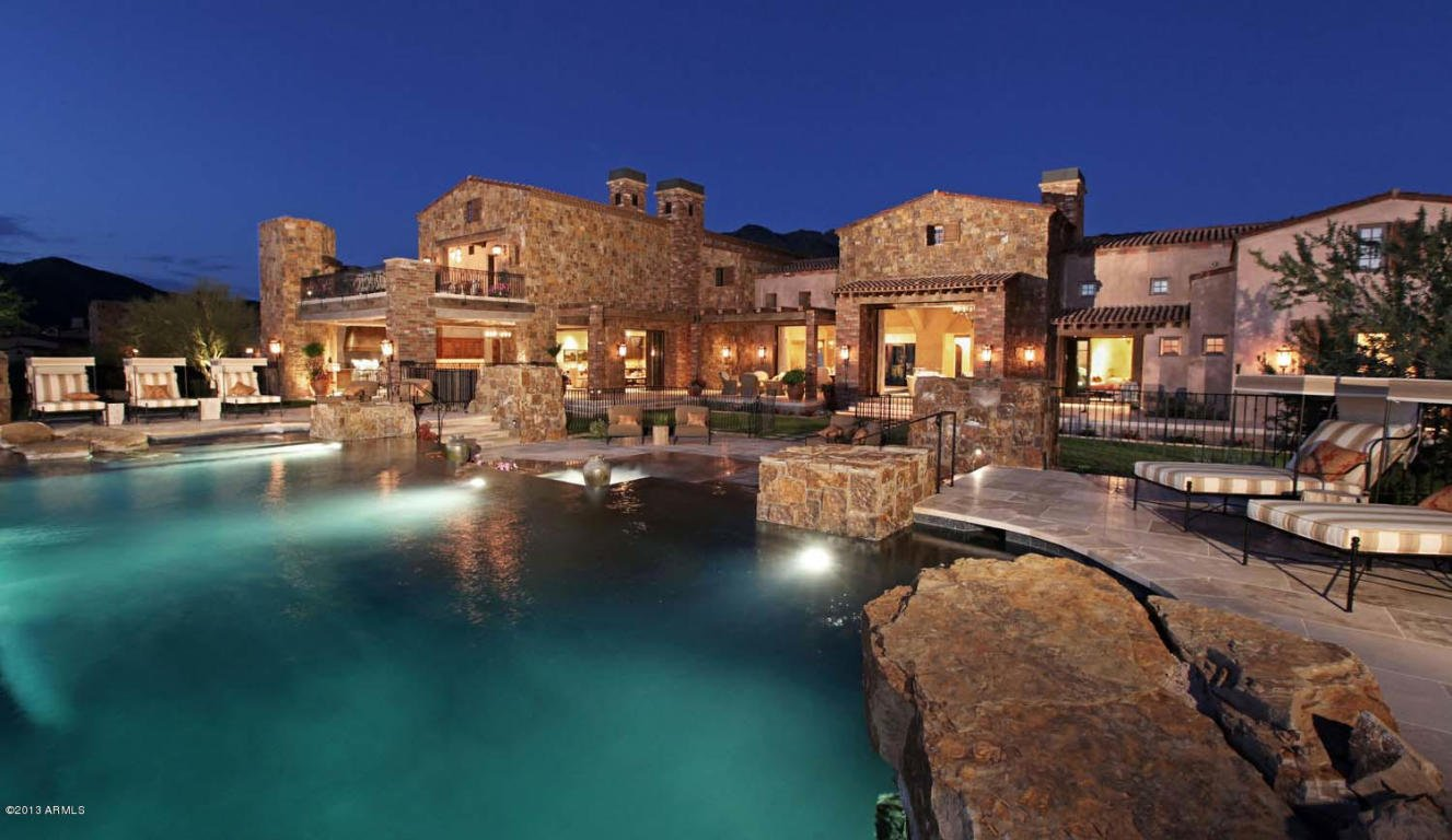 Million dollar home in scottsdale arizona is 24 500 000 for Mansions for sale in scottsdale az