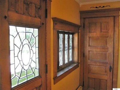 Victorian home leaded glass windows