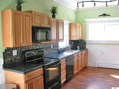 Victorian home new modern kitchen