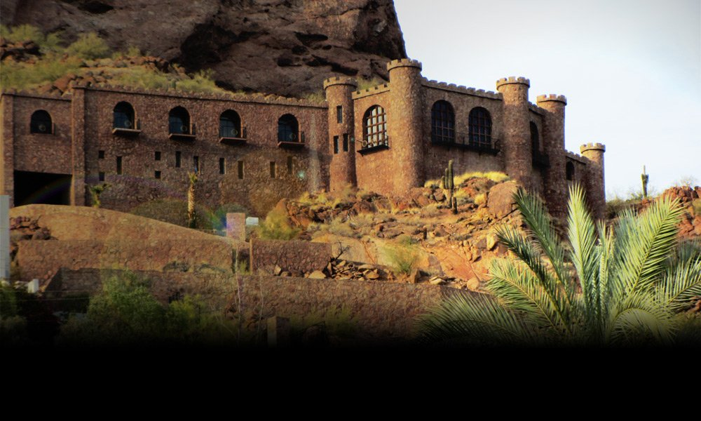 Copenhaver Castle On Camelback Moutain In Arizona