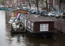 Amsterdam floating home