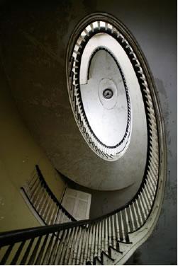 Oliver Bronson Spiral Staircase - Historic Hudson