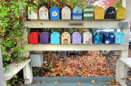 Tenas Chuck community Mailboxes