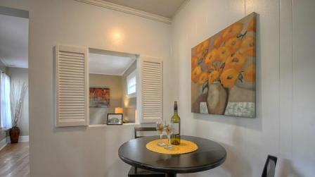 Spite House eating nook area