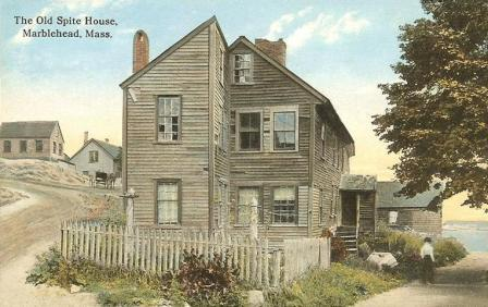 The Old Spite House Marblehead MA