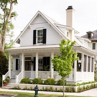 Southern living house plans featuring sugarberry cottage for One and a half story homes