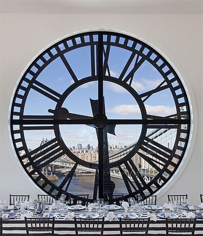 Clock tower penthouse
