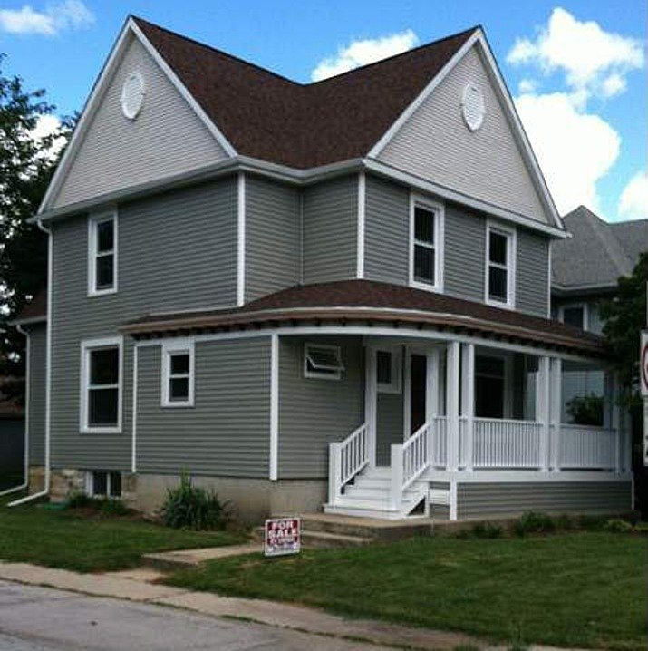 New Built Homes: Charming Victorian Home Built In 1890 Restored To Life