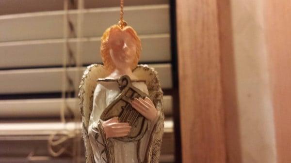 Christmas Angel with Harp