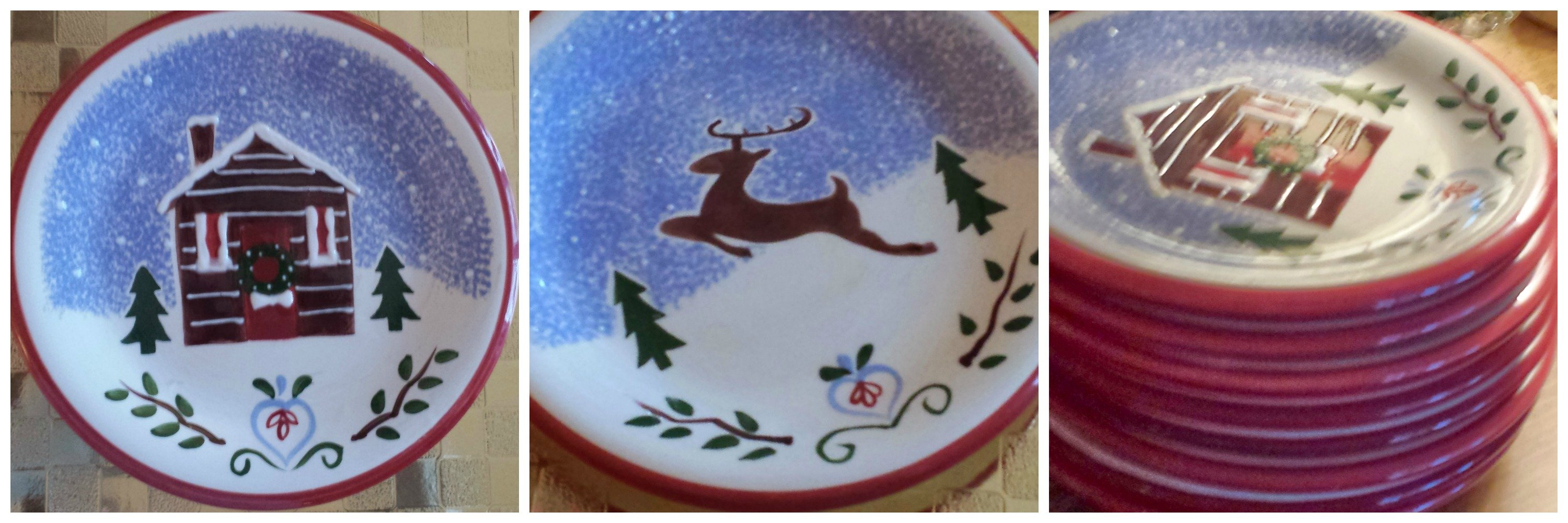 Christmas Dinnerware & Christmas Angels On High - Christmas Decorating Home Tour