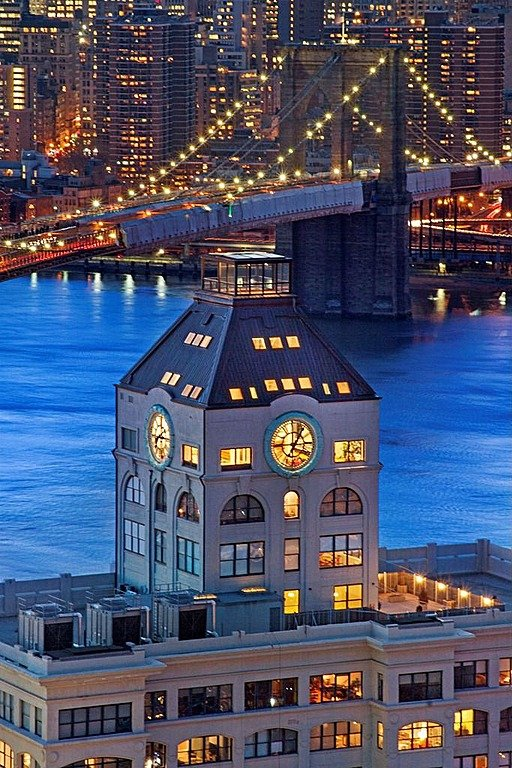 Clock tower penthouse in new york is 18 million for Brooklyn penthouses for sale