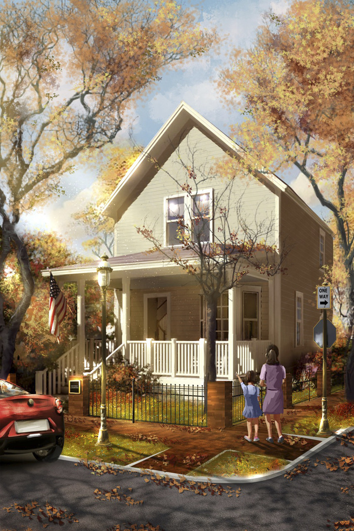 Walt Disney Birthplace home