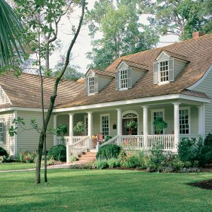 Southern Plantation house plan