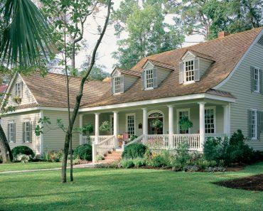 Southern Plantation house plan