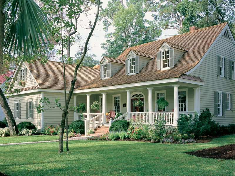 House plans photos cape cod cottage traditional ranch for Traditional ranch house