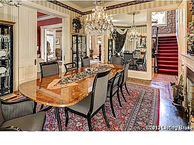 Dining Room Historical Home