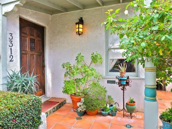 Spanish Style home Entrance 3312 Orange Ave Signal Hill, CA was for sale