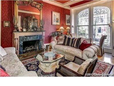 Liv Room Historical home for sale