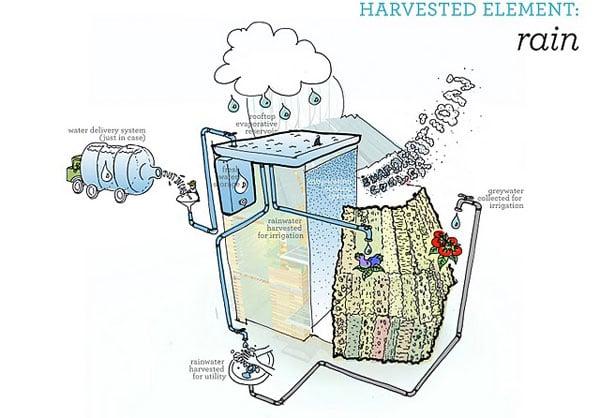 Rainwater harvest system