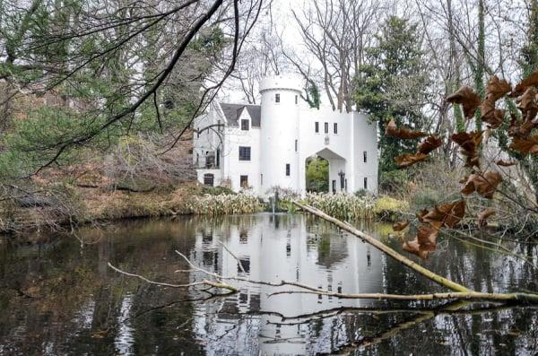 Rossdhu Gate Scottish Tudor Castle