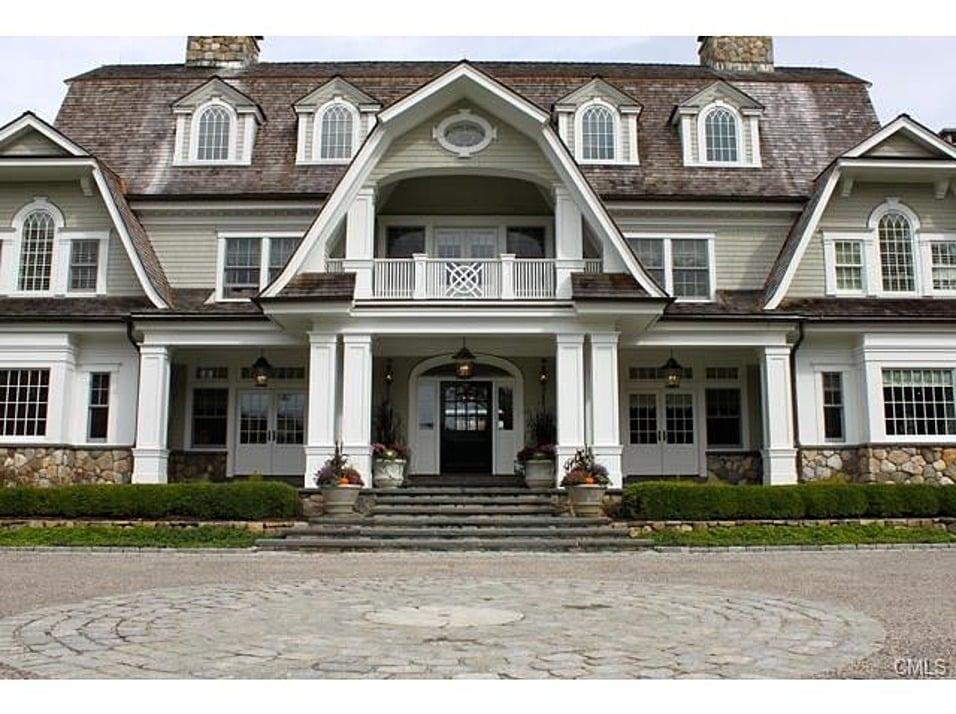 Cape cod mansion diamond baratta design for Cool house plans com
