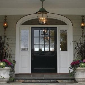 Entrance Cape Cod home