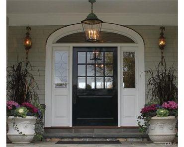 Entrance Cape Cod home