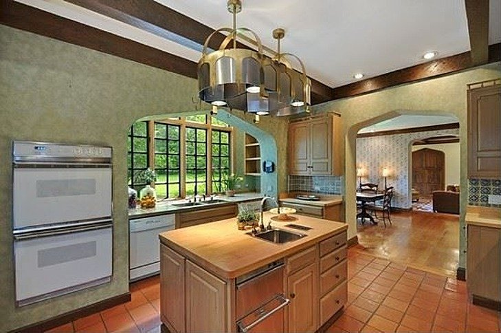 kitchen John Hughes house Coldwell Banker