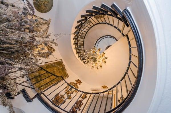 Stairway Rossdhu castle MD for sale