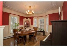 Dining rm Bath ME house for sale