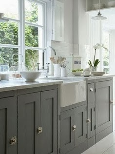 How many shades of grey kitchen