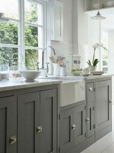How many shades of grey kitchen