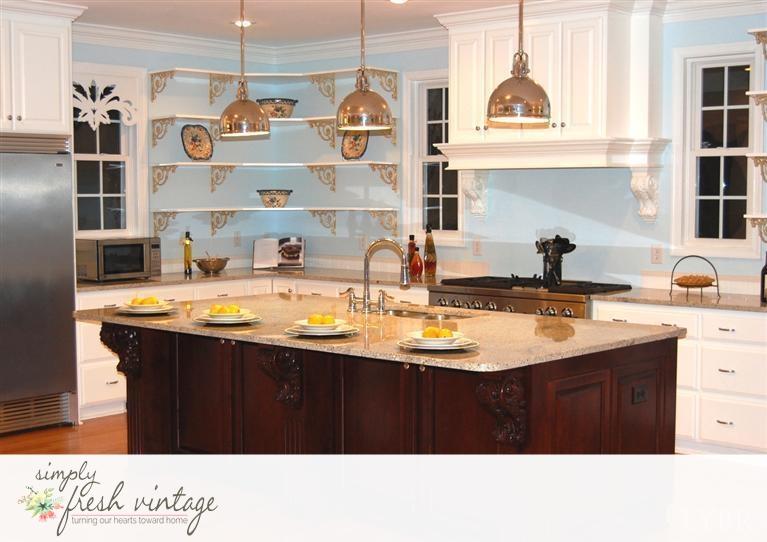 Simply Fresh Vintage Kitchen