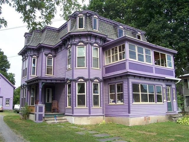 Purple Victorian for sale at 19 N Main St Earlville NY