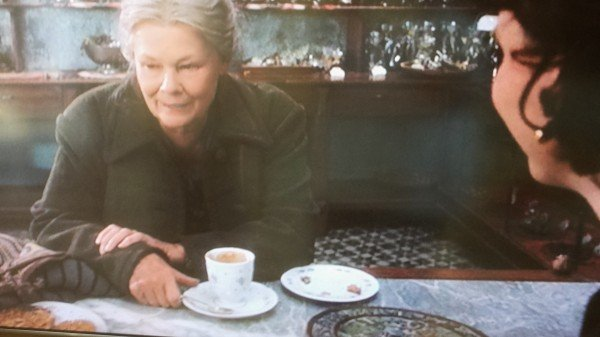 Armande Voizin played by Judy Dench in Chocolat