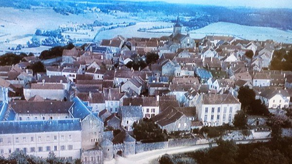 French village in Chocolat movie