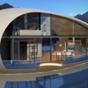 Giant Egg-Shaped Houses Made Out Of Reclaimed Material